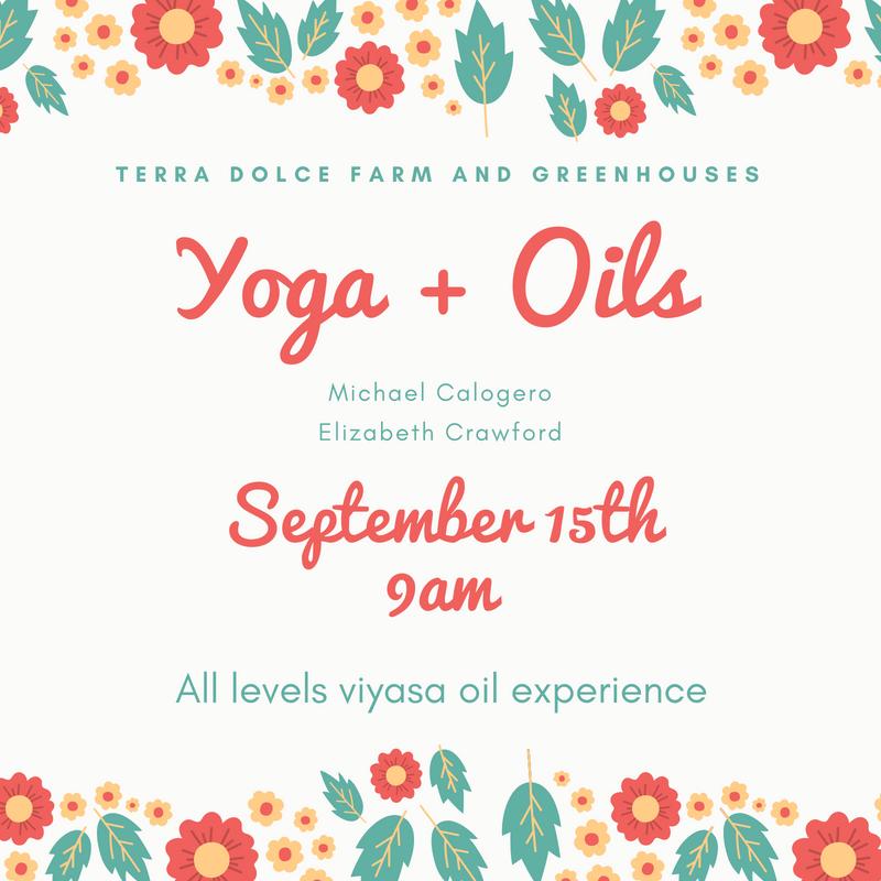 Yoga & Oils event